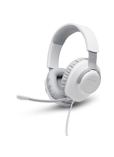 JBL JBL Quantum 100 Beyaz Oyuncu Kulaklığı Beyaz